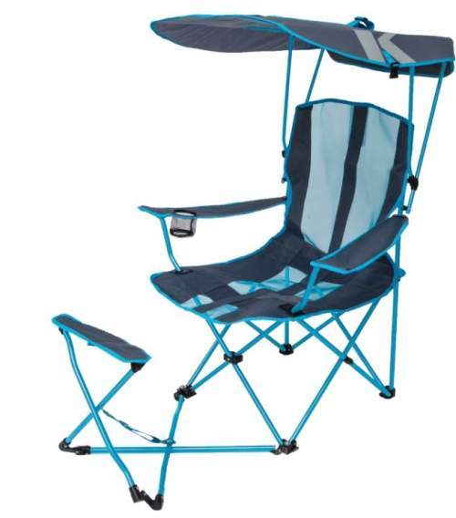 SwimWays Kelsyus Original Canopy Chair with Ottoman.