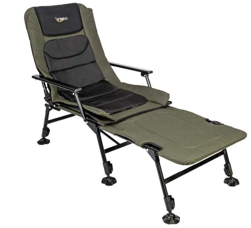 VINGLI Folding Chair Plus Foot Rest.