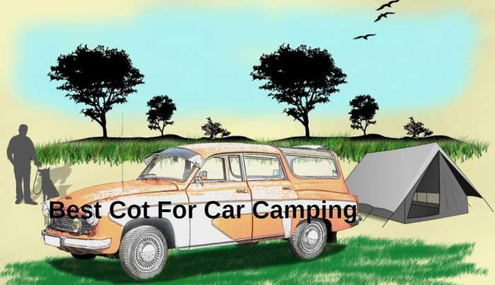 Best Cot For Car Camping.