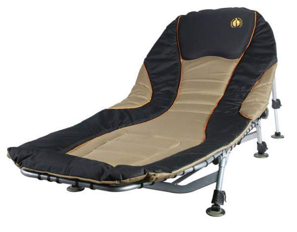 Camping Cot Sierra 440 as a lounger.
