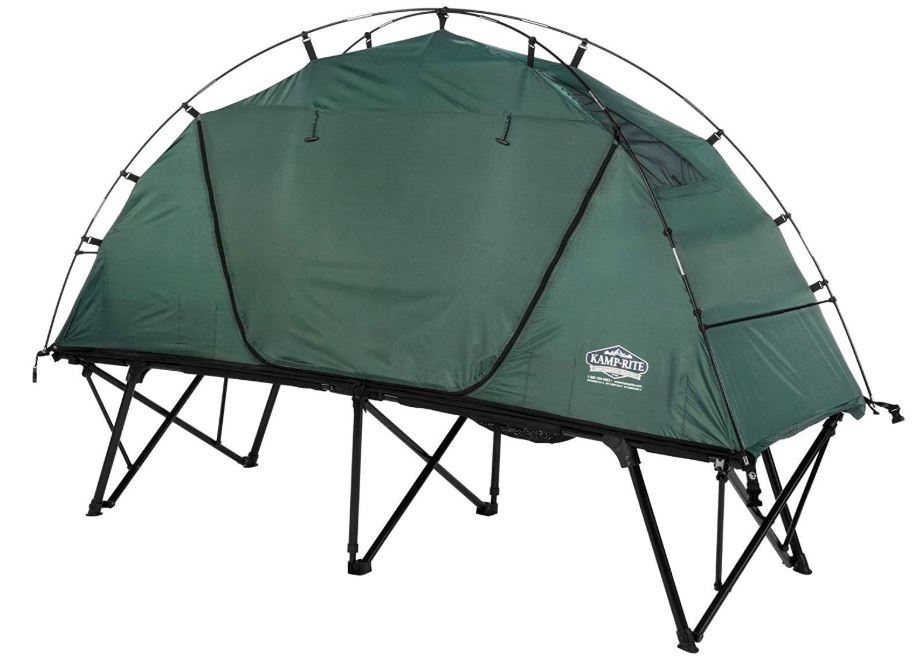 Kamp-Rite CTC Compact Light Collapsible Backpacking Camping Tent Cot.