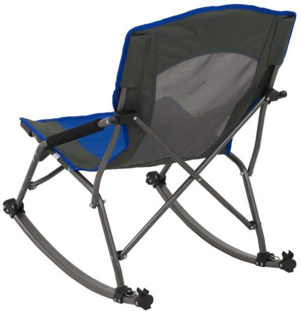 ALPS Mountaineering Low Rocker Chair back view.