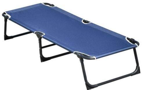 This is the cot shown without the mat.
