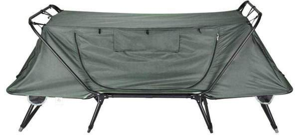 Yescom1-Person Folding Tent-Cot front view.