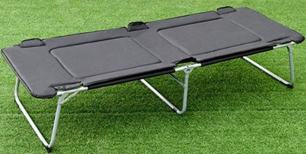 Goplus Foldable Camping Bed.