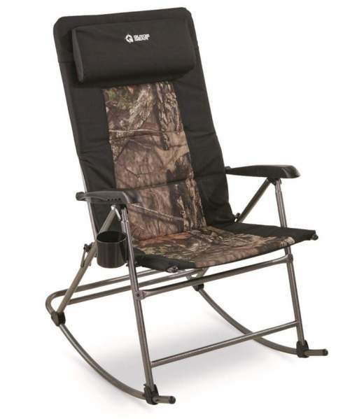 Guide Gear Oversized Rocking Camp Chair.