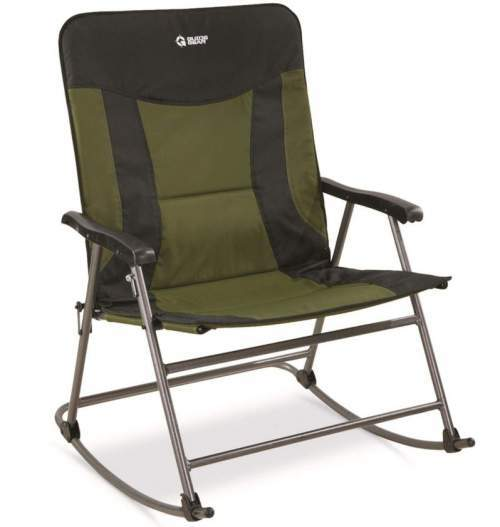 Guide Gear Oversized XXL Rocking Camp Chair.