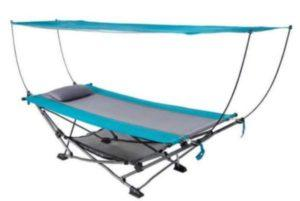 Nikkycozie Portable Fold Up Hammock with Removable Canopy