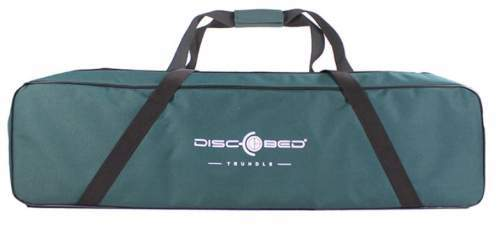 The carry bag is zippered and with handles.