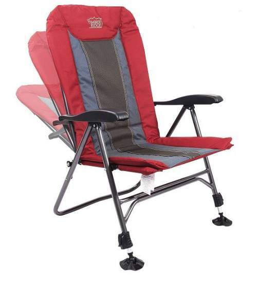 This is a reclining camping chair.