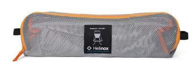 This is the Helinox Beach Chair packed.