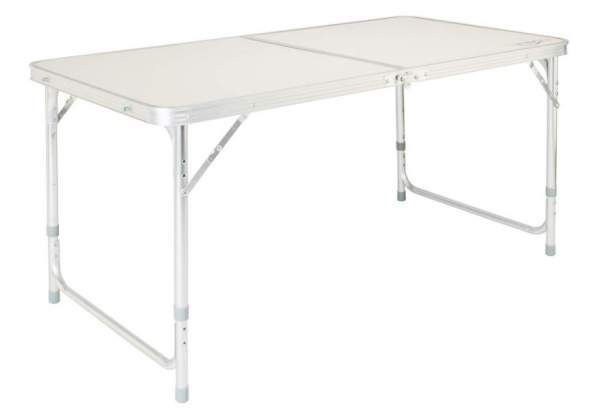 VINGLI 4 Foot Folding Table with Adjustable Height.