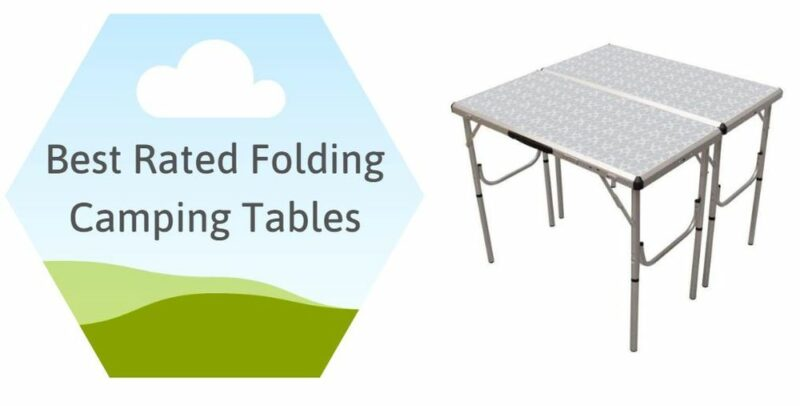 Best Rated Folding Camping Tables