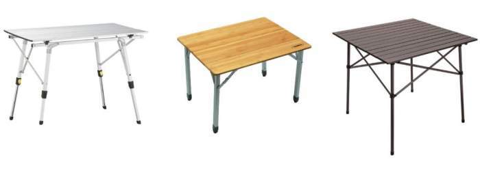 Collapsible Outdoor Tables