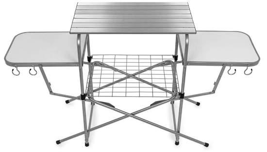Camco 57293 Deluxe Folding Grill Table.
