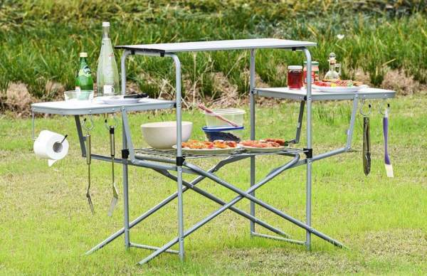 Outdoor Tables for Grilling