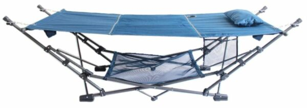 ZENITHEN LIMITED Guidesman Portable Blue Folding Hammock.