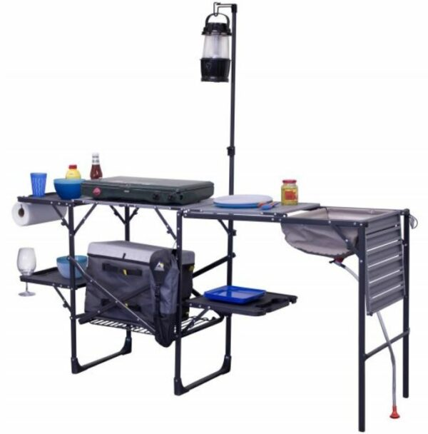 GCI Outdoor Master Cook Portable Folding Camp Kitchen.