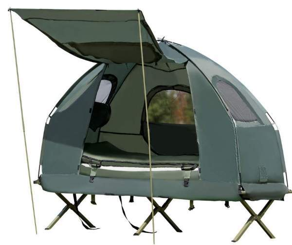 Tangkula 1-Person Tent Cot