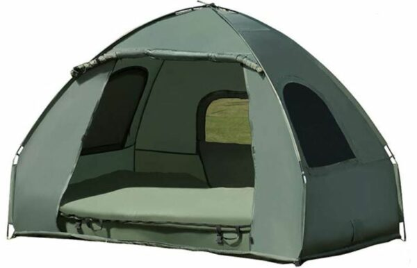 This is the 2-person tent used on the ground.