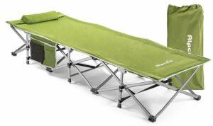 Alpcour Folding Camping Cot Without Headrest