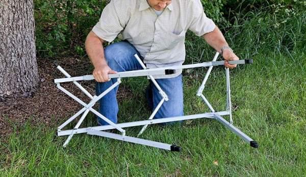Folding frame.