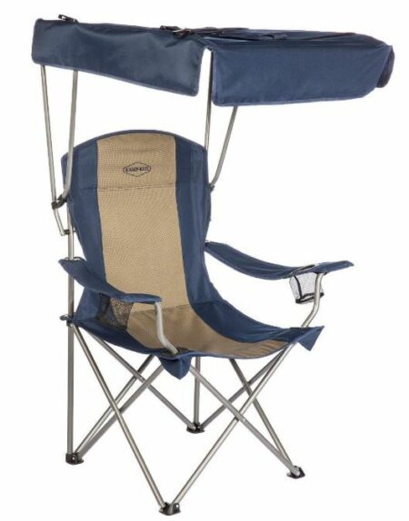 Kamp-Rite Chair with Shade Canopy.