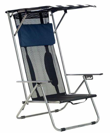 Quik Shade Beach Recliner Shade Chair.