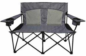Kijaro Duo Chair: Love Seat Camping Chair