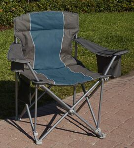 LivingXL 1000-lb Capacity Heavy-Duty Portable Chair
