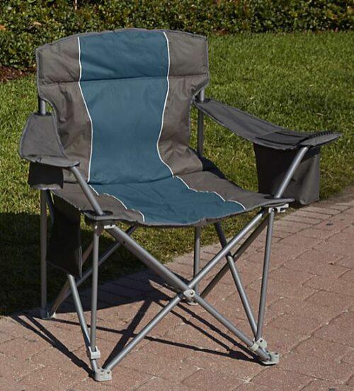 LivingXL 1000-lb Capacity Heavy-Duty Portable Chair.