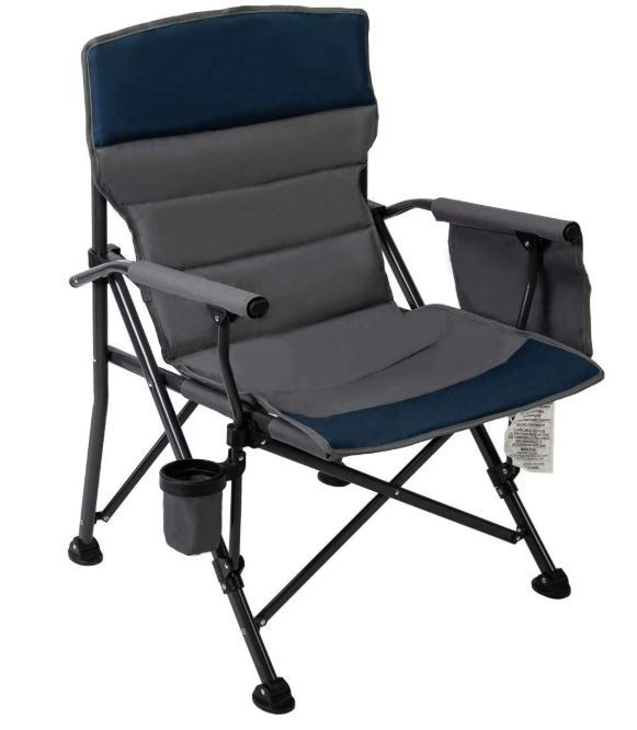 Pacific Pass Camping Chair Heavy Duty