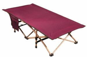 REDCAMP Extra Long Kids Cot for Camping