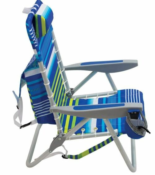 RIO Beach 4-Position Lace-Up Backpack Folding Beach Chair.