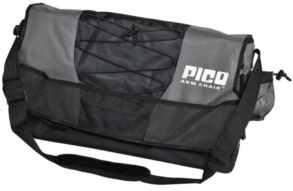 Great carry bag with several storage elements.