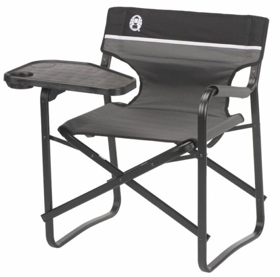 Coleman 2000020295 Chair Deck Aluminum W/Swivel Table.
