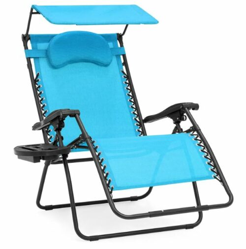 Best Choice Products Oversized Zero Gravity Reclining Lounge Patio Chair.