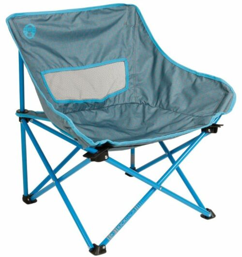Coleman Kickback Breeze Chair front view.
