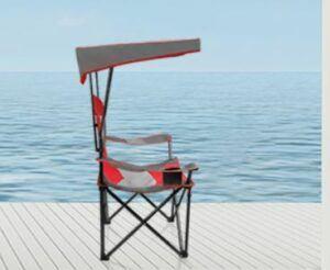 ALPHA CAMP Heavy Duty Canopy Lounge Chair (with Sunshade)