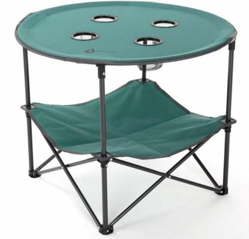 ARROWHEAD OUTDOOR Heavy-Duty Portable Folding Table