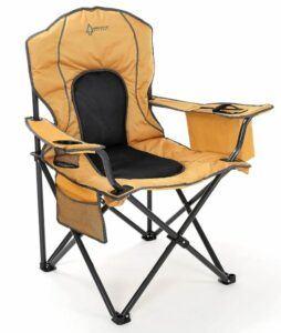 ARROWHEAD OUTDOOR Portable Folding Camping Quad Chair