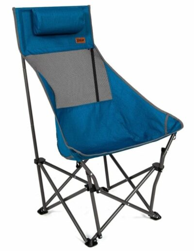 MacSports XP High-Back Compact Camping Chair front view.