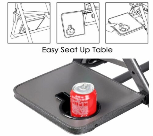 Useful side table.