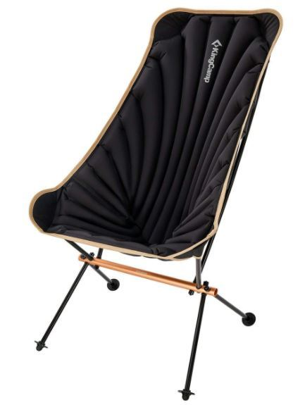 KingCamp Inflatable High-Back Folding Chair