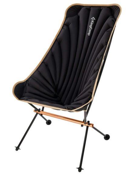 KingCamp Inflatable High-Back Folding Chair