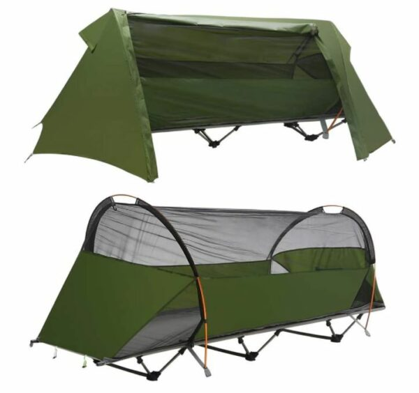 Night Cat Camping Off Ground Tent One Person Cot Tent