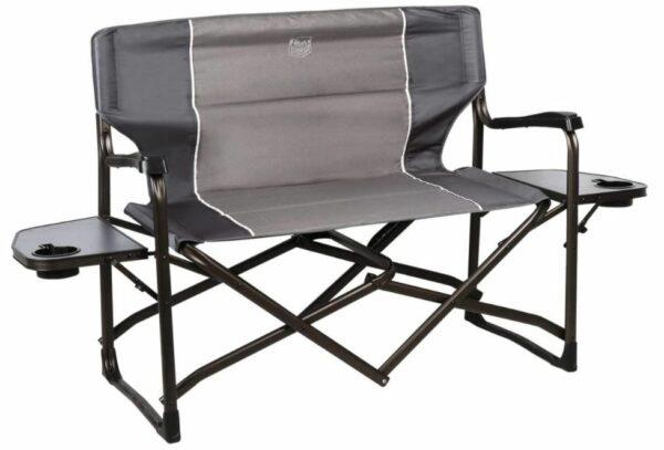 Timber Ridge Cedar 2 Person Love Seat Folding Director's Chair.