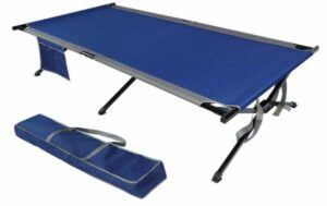 EVER ADVANCED Oversized XXL Folding Camping Cot