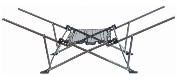 This is the folding frame with the storage shelf.