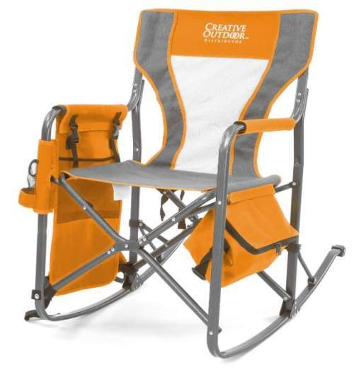 Creative Outdoor Collapsible Folding Rocking Director Chair.